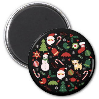 Christmas Characters Magnet