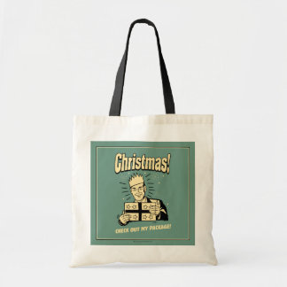 Christmas: Check Out My Package Tote Bag