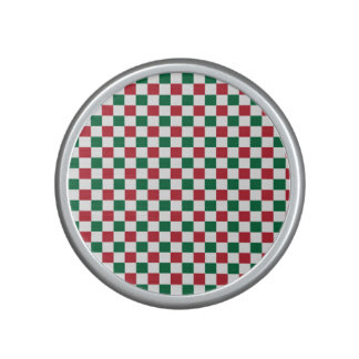 Christmas Checkerboard Bluetooth Speaker