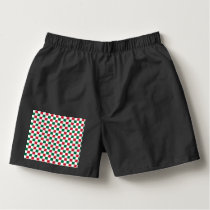 Christmas Checkerboard Boxers