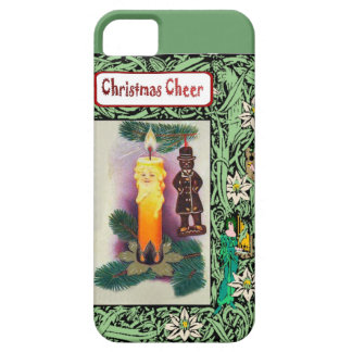 Christmas cheer, candle people iPhone 5 covers