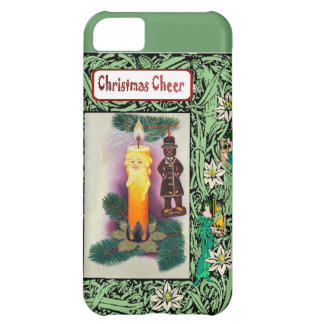 Christmas cheer, candle people iPhone 5C cases