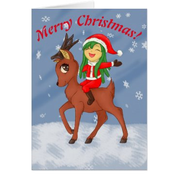 Beach Themed Christmas Cheer Card