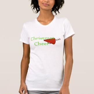 """CHRISTMAS CHEER CHEERLEADER TOP T-SHIRTS"