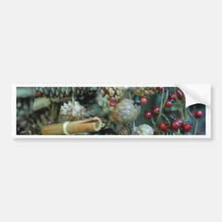 Christmas cheer decoration tree bumper sticker