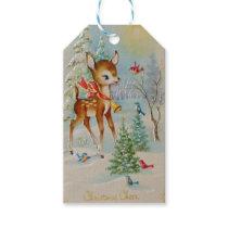 Christmas Cheer Deer Gift Tags