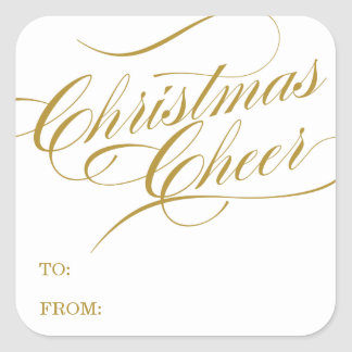 CHRISTMAS CHEER | HOLIDAY GIFT TAGS