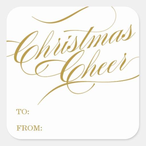 CHRISTMAS CHEER HOLIDAY GIFT TAGS...