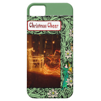 Christmas cheer, lights iPhone 5 case