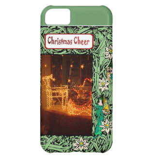 Christmas cheer, lights iPhone 5C cover
