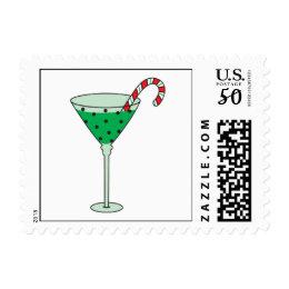 Christmas Cheer Martini Postage