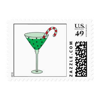 Christmas Cheer Martini Stamps