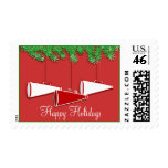 Christmas Cheer Postage Stamps
