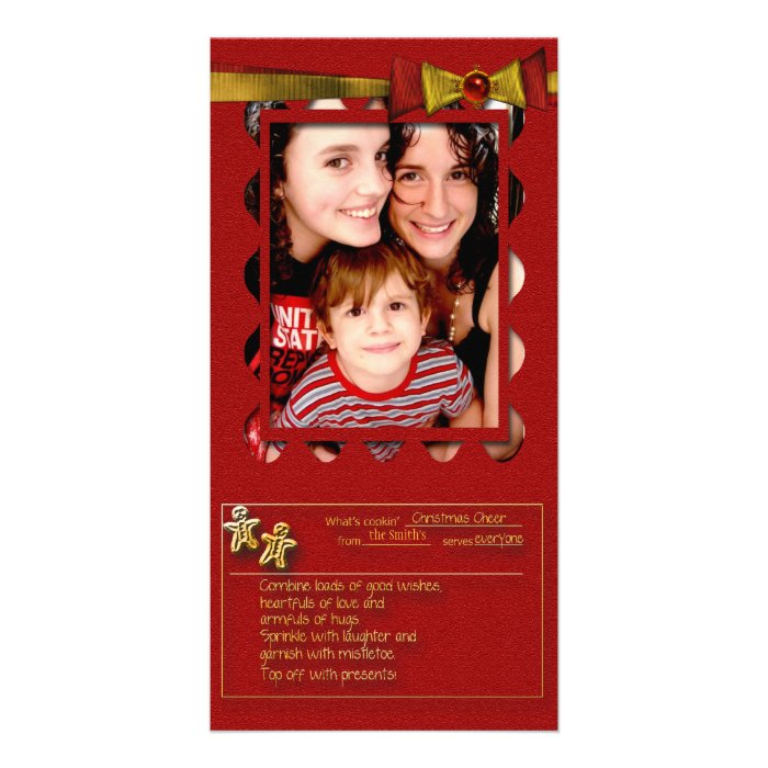 Christmas Cheer Recipe Card