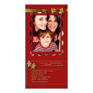 Christmas Cheer Recipe Photo Cards