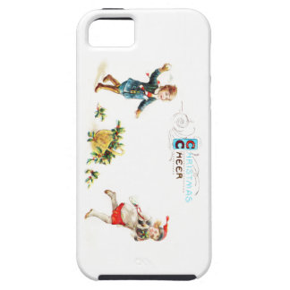 Christmas Cheer Snowball Toss iPhone 5 Cases