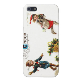 Christmas Cheer Snowball Toss iPhone 5 Covers