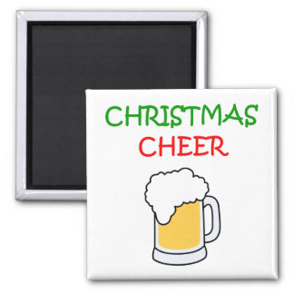 Christmas Cheer with Beer magnet