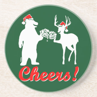 Christmas Cheers ! Coaster