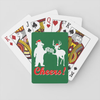 Christmas Cheers ! Playing Cards