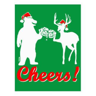 Christmas Cheers ! Postcard