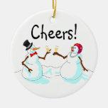 Christmas Cheers Snowmen Christmas Tree Ornament