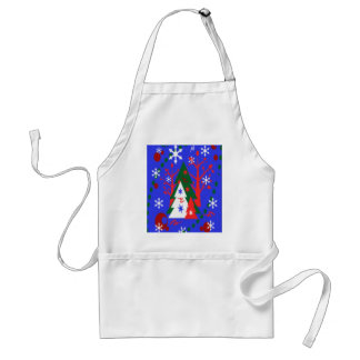 CHRISTMAS CHEF S APRON - HOLIDAY COOKING - GIFTS