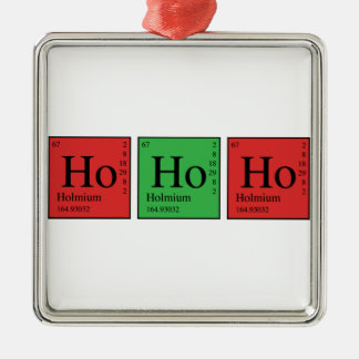 Christmas Chemistry Ornament