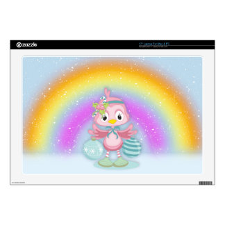 Christmas Chick Vinyl Device Protection Skin Laptop Decals