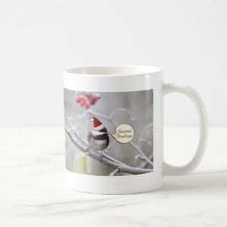 Christmas Chickadee Coffee Mug