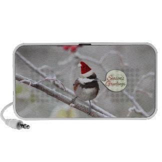 Christmas Chickadee Mini Speaker