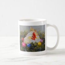 Christmas Chicken Coffee Mug