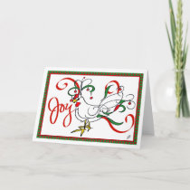 Christmas Chicken Holiday Joy Card
