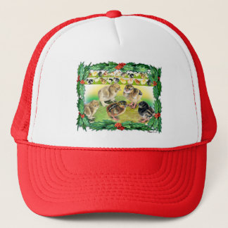 Christmas Chicks Trucker Hat