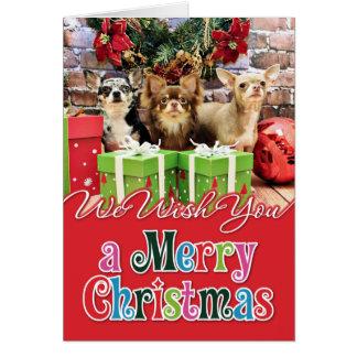 Christmas - Chihuahua - Blue - Precious - Yogi Greeting Cards
