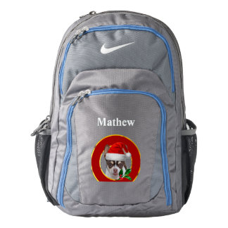 Christmas chihuahua dog backpack
