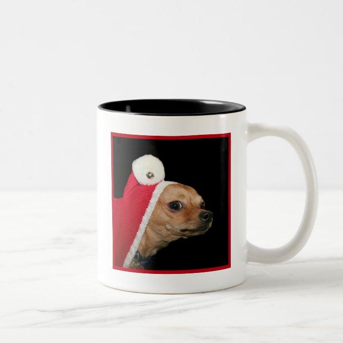 Christmas Chihuahua Dog mug