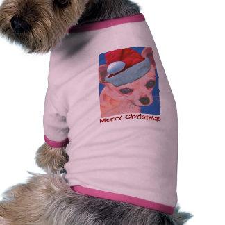 Christmas Chihuahua Dog Sweater Dog Shirt