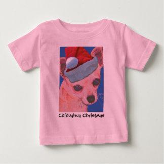 Christmas Chihuahua Infant Wear Baby T-Shirt