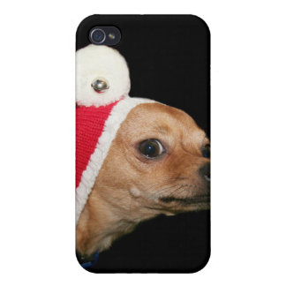 Christmas Chihuahua iPhone 4 Cover