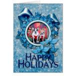Christmas - Chihuahua - Moo Moo and Ginger Greeting Card