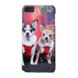 Christmas - Chihuahua - Moo Moo and Ginger iPod Touch (5th Generation) Cover