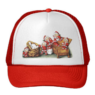 Christmas Children Mesh Hat