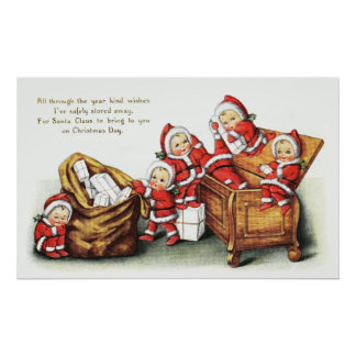 Christmas Children Poster