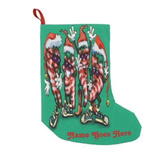 Christmas Chili Peppers Small Christmas Stocking