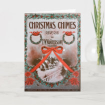 Christmas Chimes Holiday Card