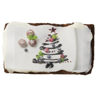 Christmas Chocolate Brownie