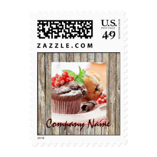 christmas chocolate cake bakery business stamps