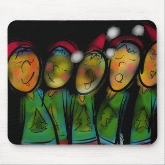 Christmas Choir Mousepad