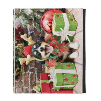 Christmas - Chorki - Willie iPad Folio Cover